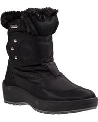 Pajar - Moscou Snow Boot Black Fabric - Lyst