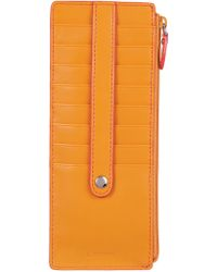 Lodis - Audrey Credit Card Case Mazie/coral Leather - Lyst