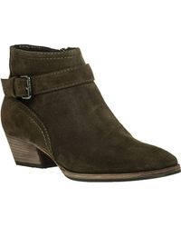 Aquatalia - Fanny Water-Resistant Suede Ankle Boots - Lyst