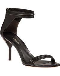 3.1 Phillip Lim | Martini Sandal Black Leather | Lyst