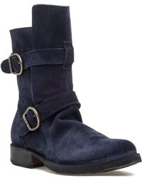 Fiorentini + Baker - Eternity 713 Boot Navy Suede - Lyst