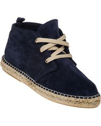 275 Central - Suma Suede Lace-Up Espadrille - Lyst