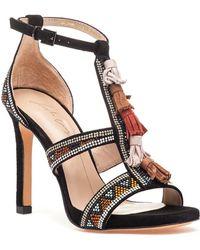 Lola Cruz - 307z04bk Sandal Black Suede - Lyst