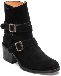 Fiorentini + Baker - Tempest Toky Black Suede Boot - Lyst