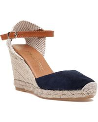 275 Central - Nantes Navy Suede Espadrille - Lyst