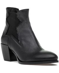 275 Central - 1421 Boot Black Leather - Lyst
