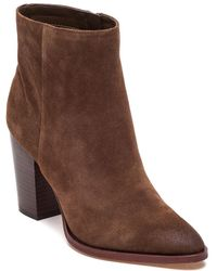 Sam Edelman - Petty Suede Ankle Boots - Lyst