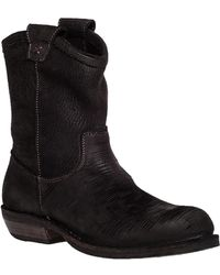 Fiorentini + Baker - Cruna Suede Ankle Boots - Lyst