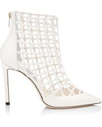 Jimmy Choo - Sheldon 100 Caged Ankle Boots - Lyst