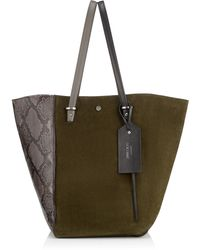 Jimmy Choo - Twist Tote/l - Lyst