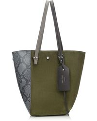 Jimmy Choo - Twist Tote/m - Lyst