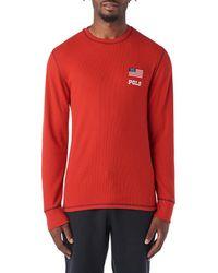 Polo Ralph Lauren - American Flag Long Sleeve Thermal - Lyst