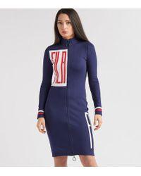 Fila - Ada Zip Dress - Lyst