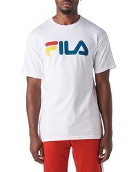 Fila - F Box Smu Short Sleeve Tee - Lyst