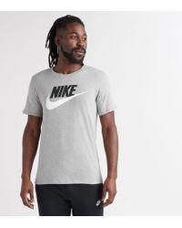 ecdf01d7 Nike Innovation Logo T-shirt in Green for Men - Lyst