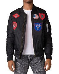 American Stitch - All Over Patch Jacket - Lyst