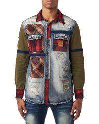 Heritage - Dnm N Plaid Ls Shirt W Velcro Tape - Lyst