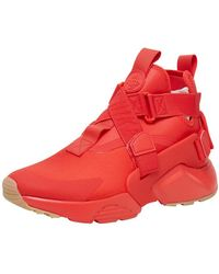 Nike - Red Air Huarache City Trainers - Lyst