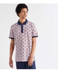 ca048065 Fila Uragan Long Sleeved Polo Shirt in Pink for Men - Lyst