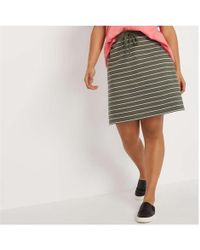 e901becf7e Champion Drawstring Midi Skirt With Side Logo in Gray - Lyst