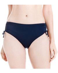 Joe Fresh - Gathered Bikini Bottom - Lyst