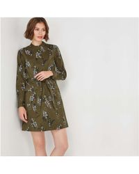 Joe Fresh - Print Military Dress - Lyst