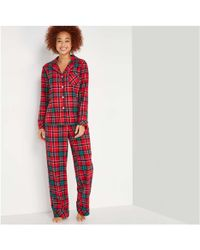 Joe Fresh - Flannel Sleep Set - Lyst