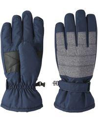 Joe Fresh - Men's Colour Block Ski Gloves - Lyst