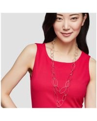 Joe Fresh - Long Loop Chain Necklace - Lyst