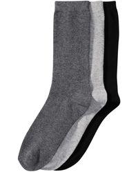 Joe Fresh - 3 Pack Crew Socks - Lyst