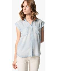 Joe's Jeans - Emilia Sleeveless Shirt - Lyst
