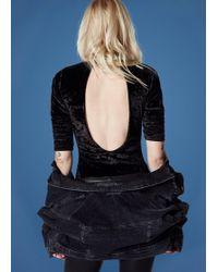 Joe's Jeans - Taylor Hill X Joe's | Velvet Bodysuit - Lyst