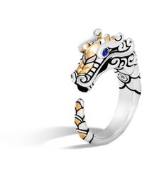 John Hardy - Naga Brushed Ring - Lyst