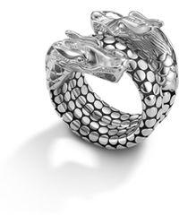 John Hardy - Naga Coil Ring - Lyst