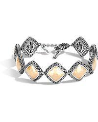 John Hardy - Classic Chain Hammered Link Bracelet - Lyst
