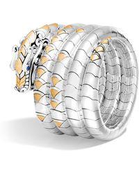 John Hardy - Naga Multi Coil Bracelet - Lyst