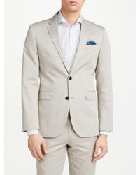 John Lewis - Woven In Italy Cotton Cashmere Tailored Suit Jacket - Lyst