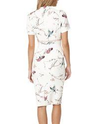 John Lewis - Damsel In A Dress Japanese Bird Print Dress - Lyst