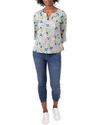 White Stuff - Lisbeth Floral Top - Lyst