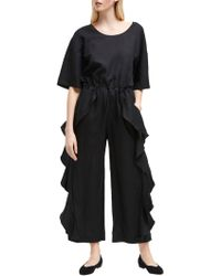 French Connection - Dae Frill Jumpsuit - Lyst