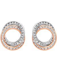 Ib&b - 9ct Gold Stud Earrings - Lyst