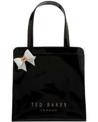 Ted Baker - Cleocon Bow Small Icon Shopper Bag - Lyst