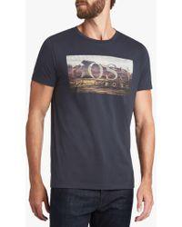 BOSS - Boss Teedog 1 Short Sleeve Graphic T-shirt - Lyst