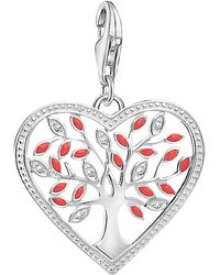 Thomas Sabo - Charm Club Tree Of Love Heart Charm - Lyst