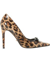 Dune - Animal Stiletto Heel Court Shoes - Lyst