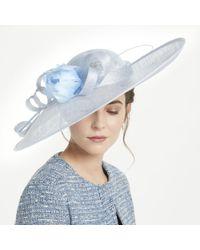 cfcad5535d4 John Lewis Joy Large Brim Diamante Disc Occasion Hat in Natural - Lyst