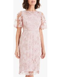 Phase Eight - Harlow Sequin Lace Dress - Lyst