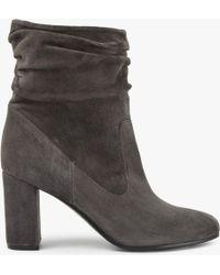 Modern Rarity - Olita Block Heeled Slouch Boots - Lyst
