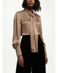 Bruce By Bruce Oldfield - Pleat Cuff Blouse - Lyst