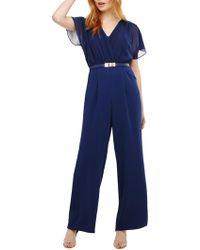 Phase Eight - Alba Belted Jumpsuit - Lyst